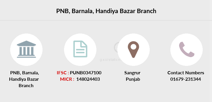 Punjab-national-bank Barnala-handiya-bazar branch