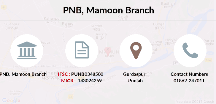 Punjab-national-bank Mamoon branch