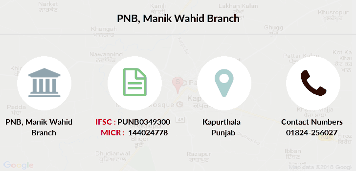 Punjab-national-bank Manik-wahid branch