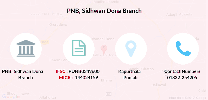 Punjab-national-bank Sidhwan-dona branch