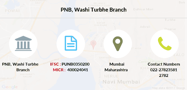 Punjab-national-bank Washi-turbhe branch