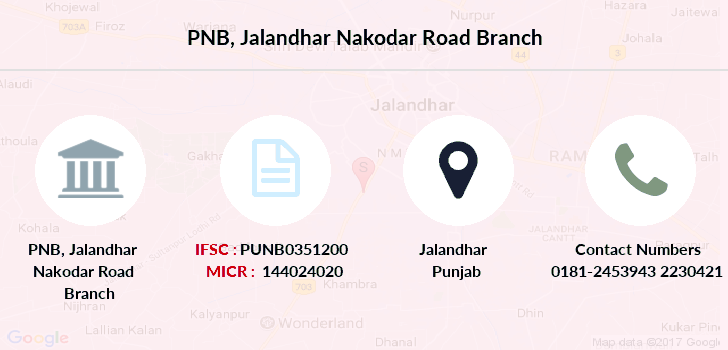 Punjab-national-bank Jalandhar-nakodar-road branch