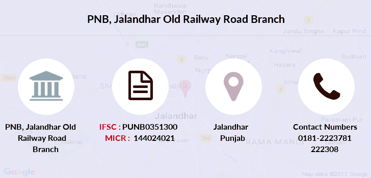 Punjab-national-bank Jalandhar-old-railway-road branch