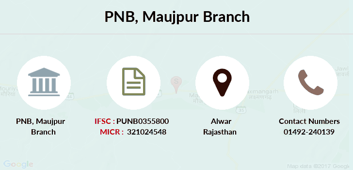Punjab-national-bank Maujpur branch