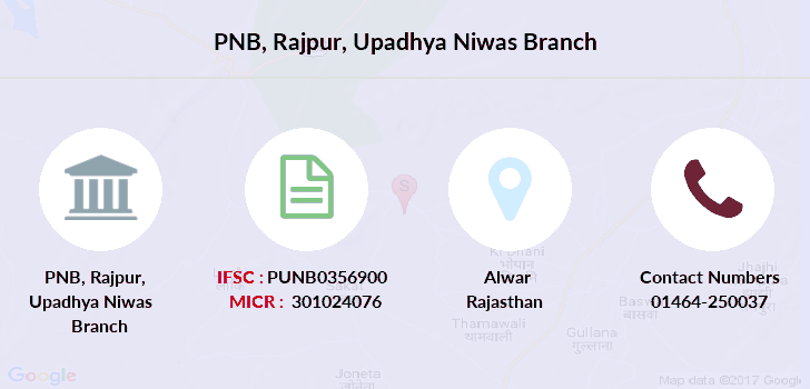 Punjab-national-bank Rajpur-upadhya-niwas branch
