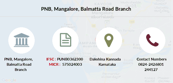 Punjab-national-bank Mangalore-balmatta-road branch
