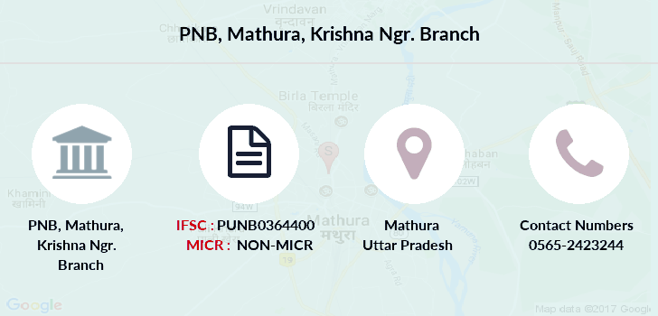 Punjab-national-bank Mathura-krishna-ngr branch