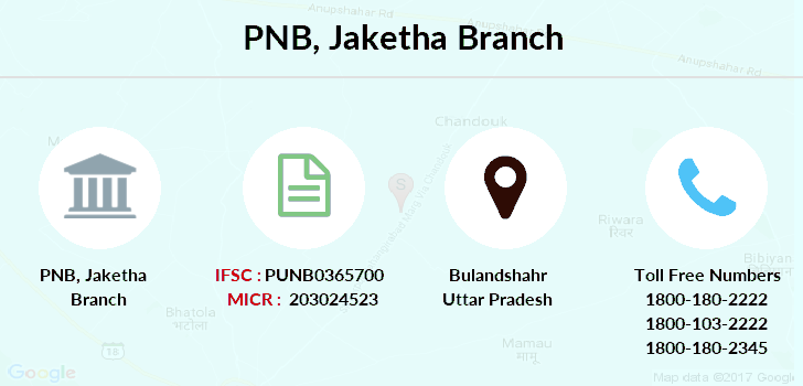 Punjab-national-bank Jaketha branch
