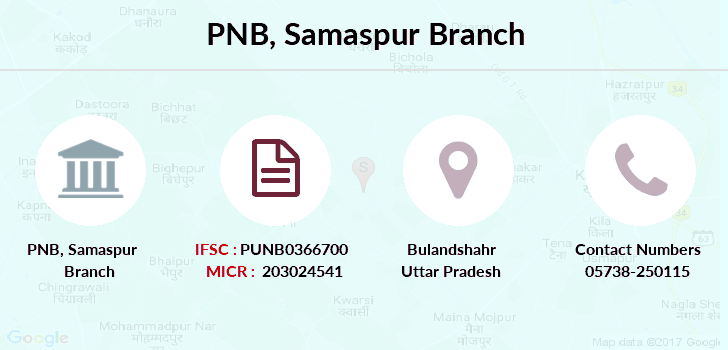 Punjab-national-bank Samaspur branch