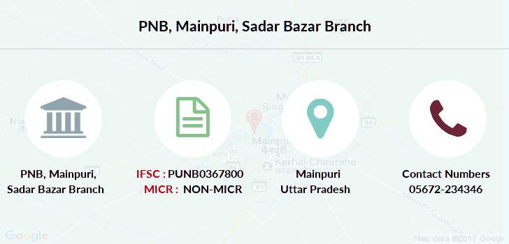 Punjab-national-bank Mainpuri-sadar-bazar branch
