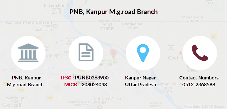 Punjab-national-bank Kanpur-m-g-road branch