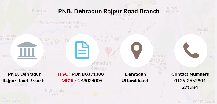 Punjab-national-bank Dehradun-rajpur-road branch