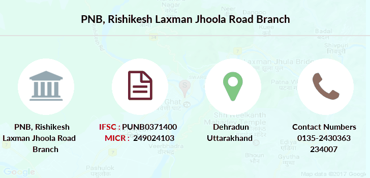 Punjab-national-bank Rishikesh-laxman-jhoola-road branch
