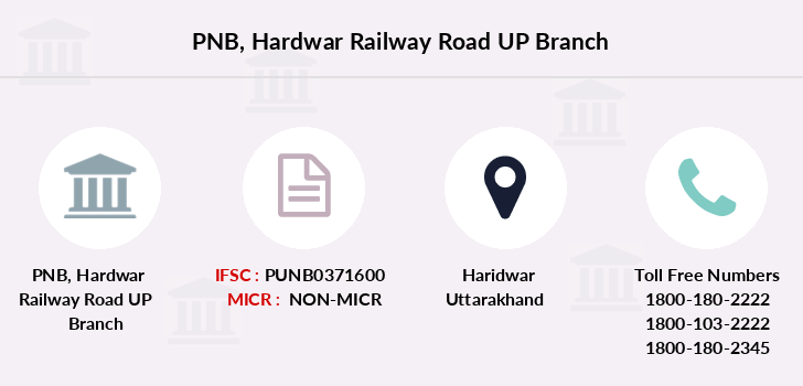 Punjab-national-bank Hardwar-railway-road-up branch
