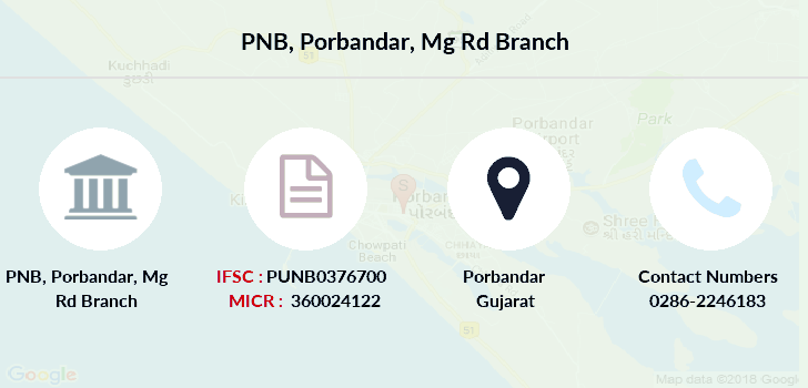 Punjab-national-bank Porbandar-mg-rd branch