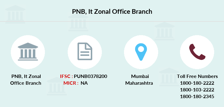 Punjab-national-bank It-zonal-office branch