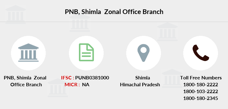 Punjab-national-bank Shimla-zonal-office branch
