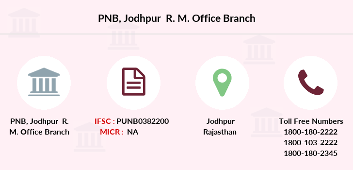 Punjab-national-bank Jodhpur-r-m-office branch