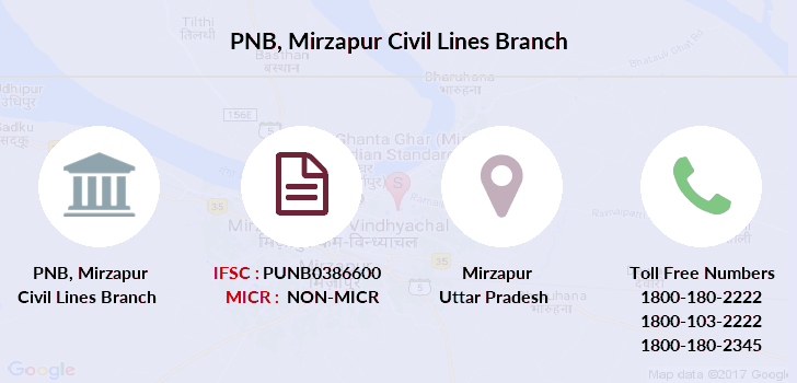 Punjab-national-bank Mirzapur-civil-lines branch