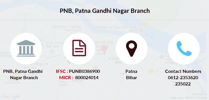 Punjab-national-bank Patna-gandhi-nagar branch