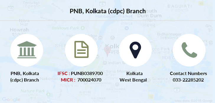Punjab-national-bank Kolkata-cdpc branch