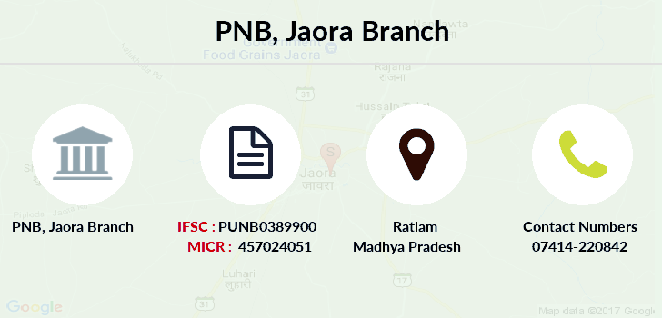 Punjab-national-bank Jaora branch