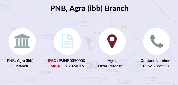 Punjab-national-bank Agra-ibb branch