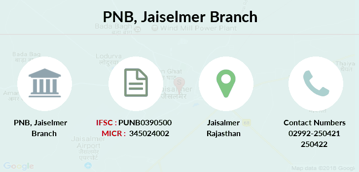 Punjab-national-bank Jaiselmer branch
