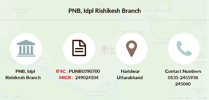 Punjab-national-bank Idpl-rishikesh branch