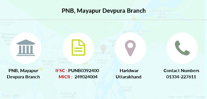 Punjab-national-bank Mayapur-devpura branch