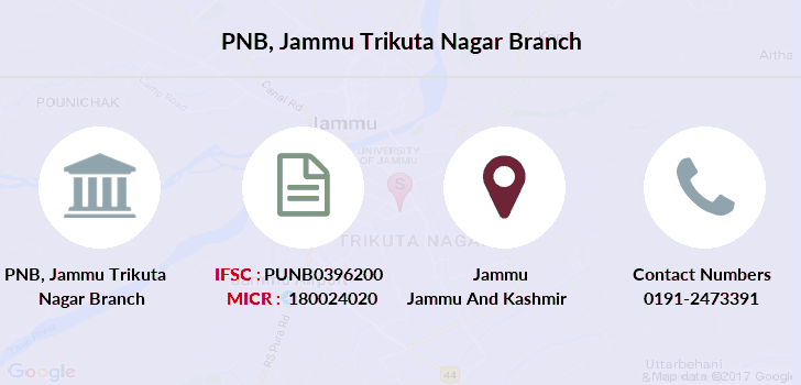 Punjab-national-bank Jammu-trikuta-nagar branch