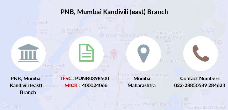 Punjab-national-bank Mumbai-kandivili-east branch
