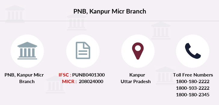 Punjab-national-bank Kanpur-micr branch