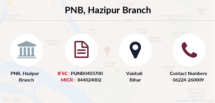 Punjab-national-bank Hazipur branch