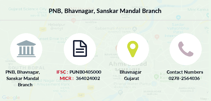 Punjab-national-bank Bhavnagar-sanskar-mandal branch
