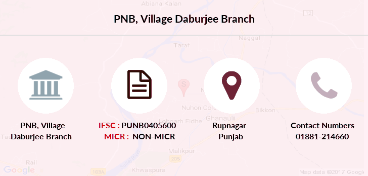 Punjab-national-bank Village-daburjee branch