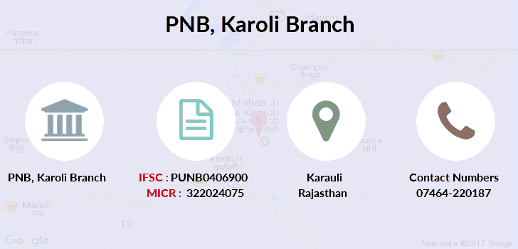 Punjab-national-bank Karoli branch