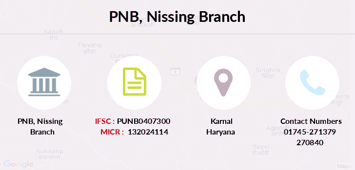 Punjab-national-bank Nissing branch