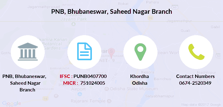 Punjab-national-bank Bhubaneswar-saheed-nagar branch