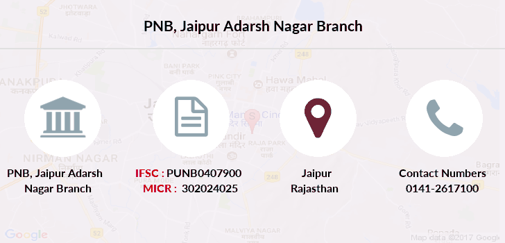 Punjab-national-bank Jaipur-adarsh-nagar branch