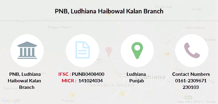 Punjab-national-bank Ludhiana-haibowal-kalan branch