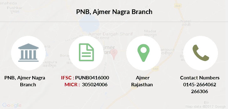 Punjab-national-bank Ajmer-nagra branch
