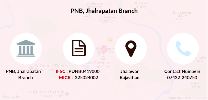 Punjab-national-bank Jhalrapatan branch