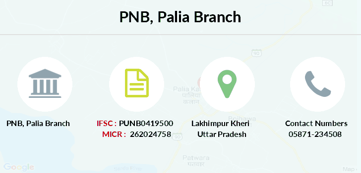 Punjab-national-bank Palia branch