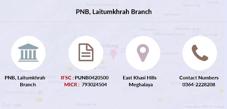 Punjab-national-bank Laitumkhrah branch