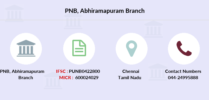 Punjab-national-bank Abhiramapuram branch