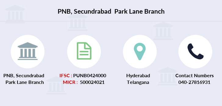 Punjab-national-bank Secundrabad-park-lane branch