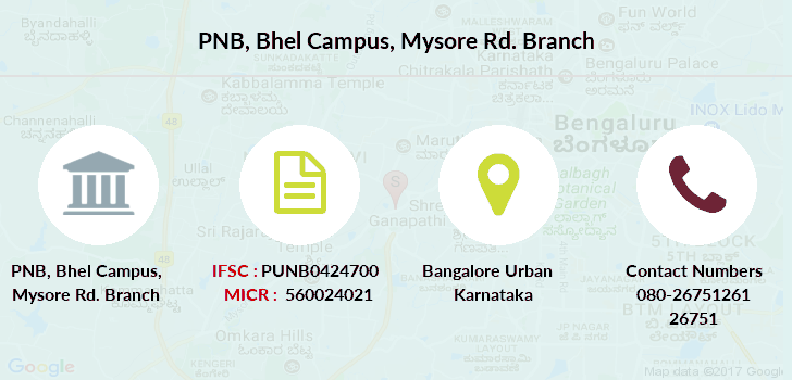 Punjab-national-bank Bhel-campus-mysore-rd branch