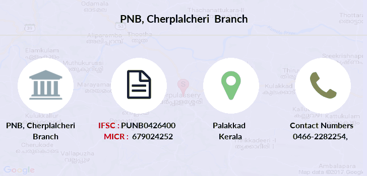 Punjab-national-bank Cherplalcheri branch