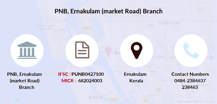 Punjab-national-bank Ernakulam-market-road branch